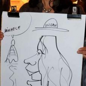 caricature NISSAN Marche - 5843