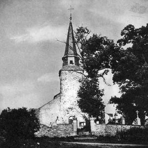 Cherain Eglise St-Vincent avant 1950