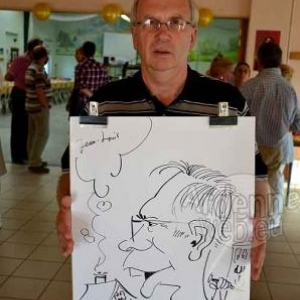 Caricature Roger- 2729