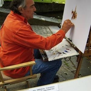Clovis Grandhenry, artiste  peintre,