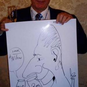 Caricature, chercheur,bruxelles, 30011