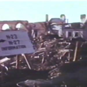 Houffalize video couleur de 1945