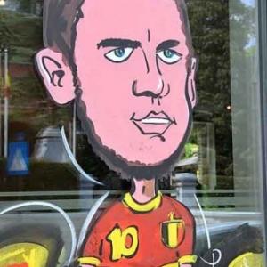 Eden Hazard Belgian Red Devils-4619