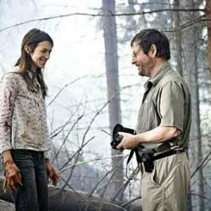 Charlotte Gainsbourg et Lars von Trier