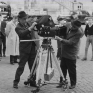 1961 Marcel Thonnon à la caméra Sachtler pour la RTB à Verviers