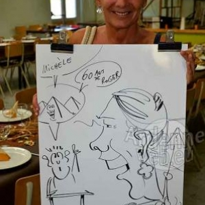 Caricature Roger- 2730