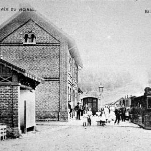Houffalize, rue de la gare avant 1944