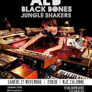 ALB et Black Bones en concert , SEDAN