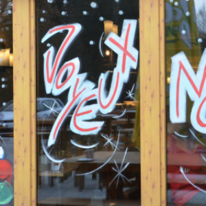 vitrine de NOEL