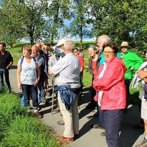 Promenade-decouverte du Canal de Bernistap avec Jean-Marie Hampert