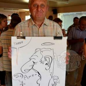 Caricature Roger- 2754