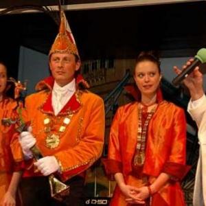 Le Prince 2006, Fi 1er, ainsi que le comite du Carnaval de La Roche. Video 01-photo 0048