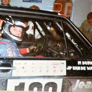 Rallye de Spa avec Dumoulin