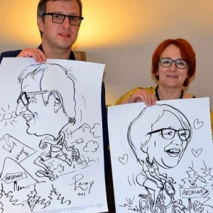Animation caricature minute