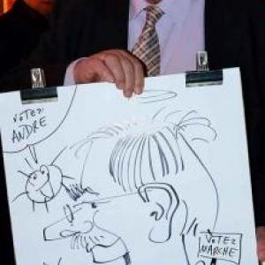 caricature NISSAN Marche - 5825