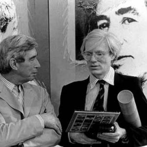 'Andy Warhol rencontrant HERGE, en 1972