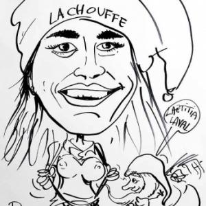 caricature de Laetitia LAVAL