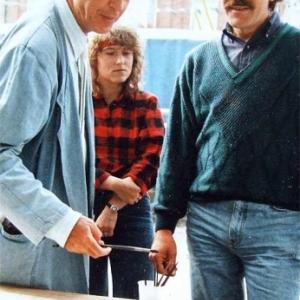 Clovis Grandhenry avec Michel Folon