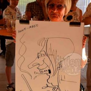 Caricature Roger- 2753