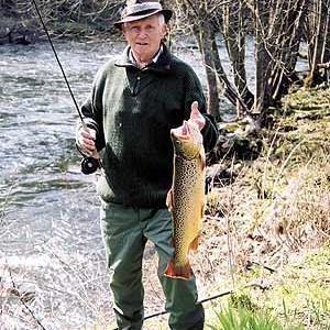 24 fevrier 2006-Mr Miguel FERNANDEZ avec sa belle prise.