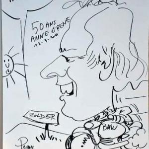 Caricature pour les 50 ans de Anne et Rene-1763