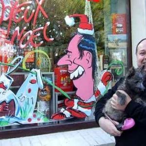 Peinture sur vitrine pour Noel-7550