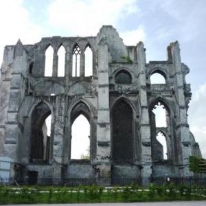 St Omer : Ruines de l' Abbaye St Bertin