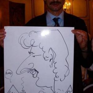 Caricature, chercheur,bruxelles, 30019