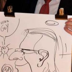 caricature NISSAN Marche - 5826