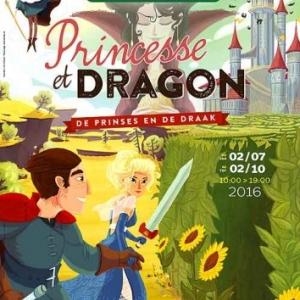 Princesse et Dragon au Labyrinthe de Durbuy-Barvaux