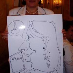 Caricature, chercheur,bruxelles, 30036