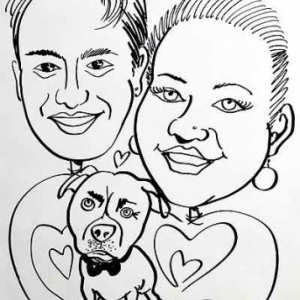Caricature mariage-4496