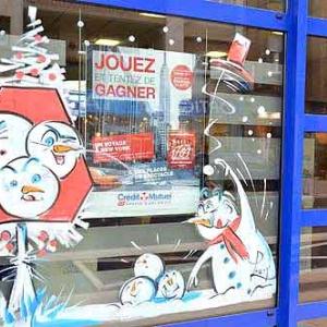 vitrine de NOEL de Jean-Marie Lesage -1996