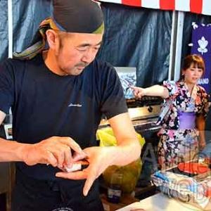 le Chef Nakahara (le Shinano, de Paris) - Epicuriales 2015-photo-5020