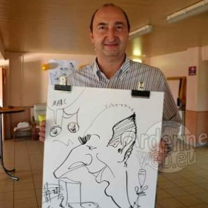 Caricature Roger- 2728