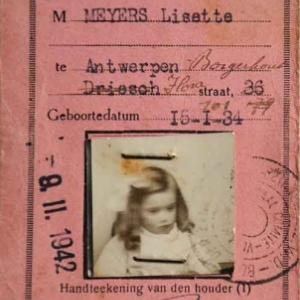 Marie-Elise artiste peintre - 1941-42