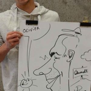caricature JUMATT-7001