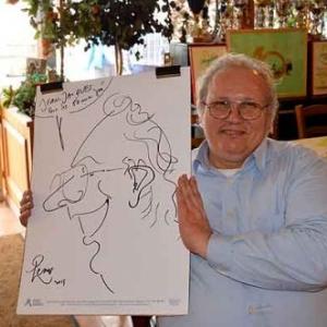 Caricature Jose Michel-4469