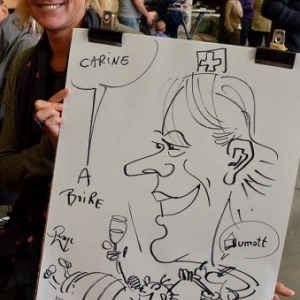 caricature JUMATT-7012