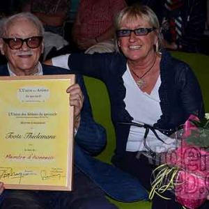 Toots Thielemans photo J. M. Lesage 2011