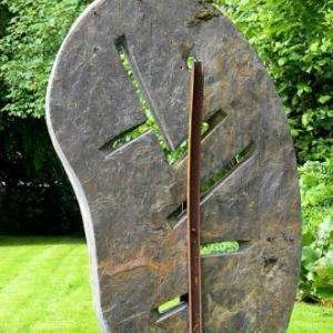 Engreux. Route des sculptures