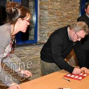 Christine Heinesch, Luc Dumoulin Echevin pour AC de Stavelot, Jean-Pol Bleus