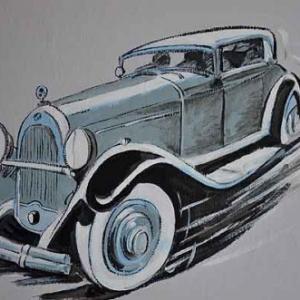 voiture ancetre 1900