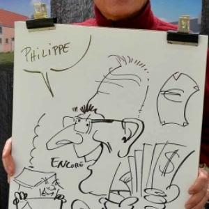 caricature JUMATT-6958