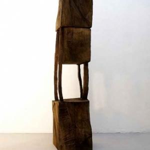 art contemporain - 6. Armin-GOHRINGER.-Bois