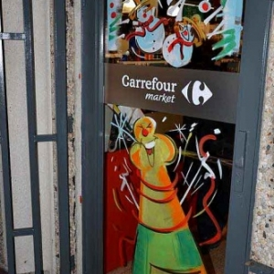 vitrine de NOEL de Jean-Marie Lesage -2398
