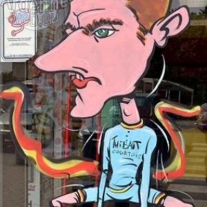 caricature Thibaut Courtois