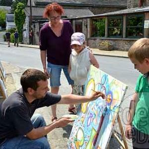 Achouffe, village des artistes-5092
