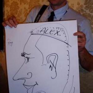 Caricature, chercheur,bruxelles, 30010