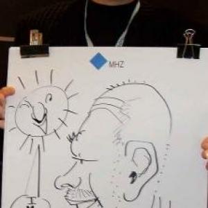 Intirio Gent MHZ caricature-7883